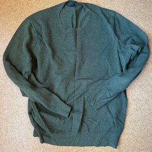 J.Crew Cotton-cashmere pique crewneck sweater